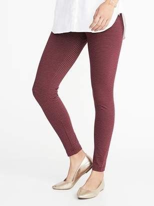 Old Navy Metallic-Stripe Jersey Leggings for Women