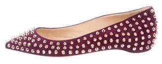 Christian Louboutin Pigalle Spike Flat