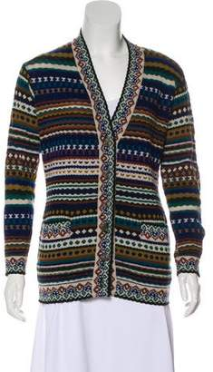 Missoni Wool Button-Up Cardigan