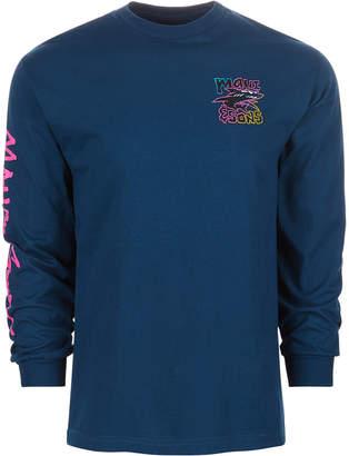 Maui and Sons Men Neon Twist Logo Graphic T-Shirt