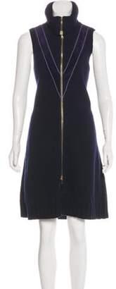 Derek Lam Wool Sweater Dress w/ Tags Blue Wool Sweater Dress w/ Tags