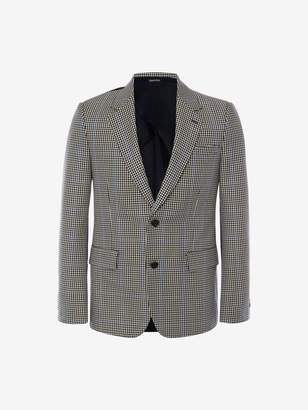 Alexander McQueen Pieced and Patched Jacket