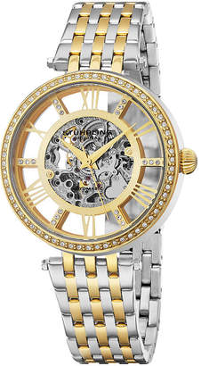 Stuhrling Original Womens Two Tone Bracelet Watch-Sp16316