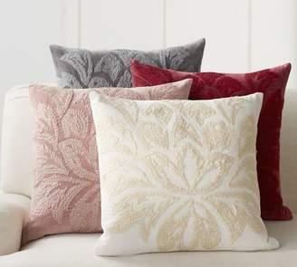 Pottery Barn Chantal Embroidered Pillow Covers