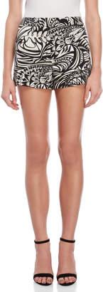 Emilio Pucci Printed Twill Shorts