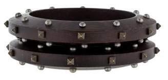 Lanvin Wooden Bracelet Set
