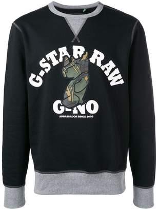 G Star Research logo sweatshirt