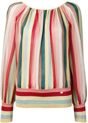 Elisabetta Franchi striped blouse