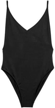 H&M Swimsuit High leg - Black