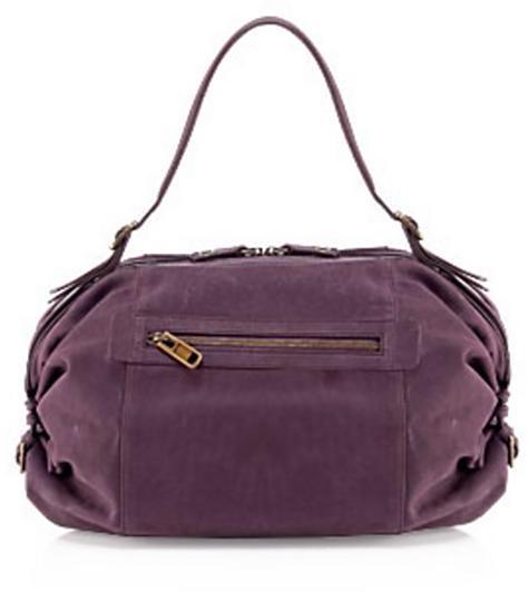 Derek Lam Lindsay Grande Bauletto Bag, Purple