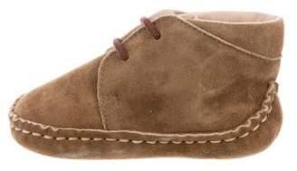 Caramel Baby & Child Boys' Suede Chukka Boots
