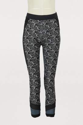 adidas by Stella McCartney Printed running tights