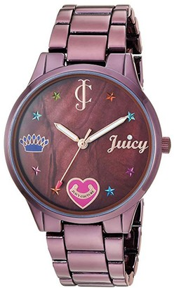 Juicy Couture Brown IP-Plated Watch w/ Mother-of-Pearl Dial