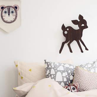 ferm LIVING My Deer Wall Lamp - Smoked Oak