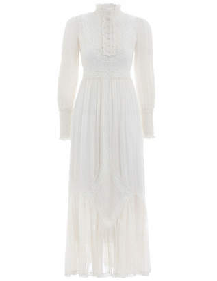 Zimmermann Unbridled Tucked Midi Dress