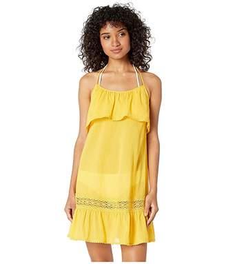 4032b78221 Kate Spade Grove Beach Ruffle Cover-Up Dress