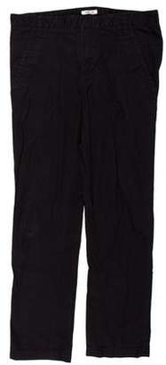 Helmut Lang Flat Front Twill Pants