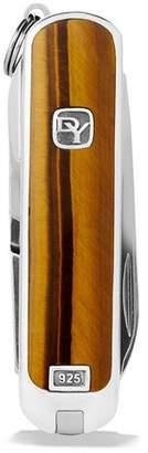 David Yurman Tiger's Eye Swiss Army® Knife, Brown