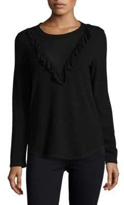 Ella Moss Ruffled Bib Top
