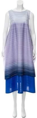 Pleats Please Issey Miyake Oversize Midi Dress