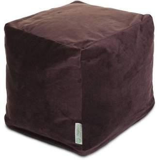Majestic Home Goods Velvet Small Cube