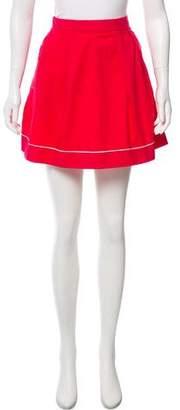 Marni Woven Mini Skirt