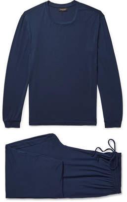 Ermenegildo Zegna Stretch Modal-Blend Pyjama Set