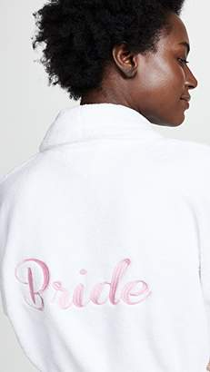 BedHead Pink Embroidered Mrs. Robe