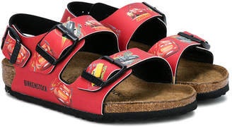 Birkenstock Kids Cars printed sandals