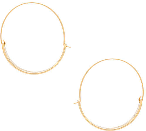 Thick and Thin Hoop Earrings