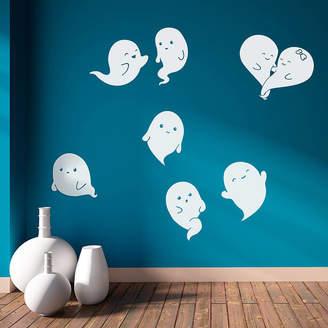 Oakdene Designs Ghosts Halloween Wall Stickers