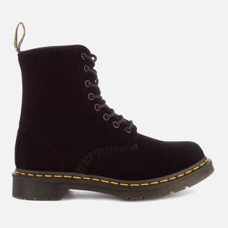 Dr. Martens Women's 1460 Velvet Pascal 8-Eye Boots