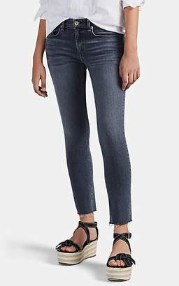 Rag & Bone Women's Dre Distressed Ankle Jeans - Gray