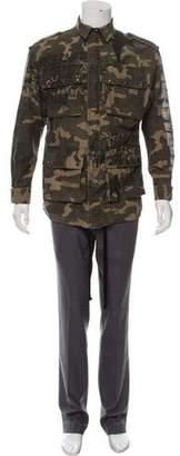Faith Connexion Camouflage Field Jacket