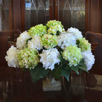 Co Darby Home Hydrangea Centerpiece in Decorative Vase