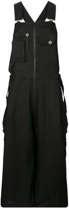 Yohji Yamamoto wide leg overalls