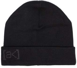 Burton Ak black stagger beanie hat