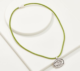 Hand & Paw Project Suede Cord Necklace with Pendant