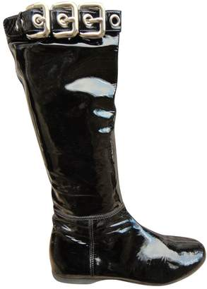 Miu Miu Patent leather boots