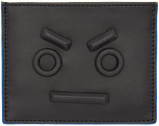 Fendi Black 'No Words' Cardholder $350 thestylecure.com