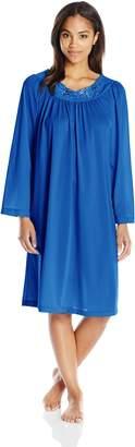 Shadowline Women's Petals 40 Long Sleeve Waltz Gown