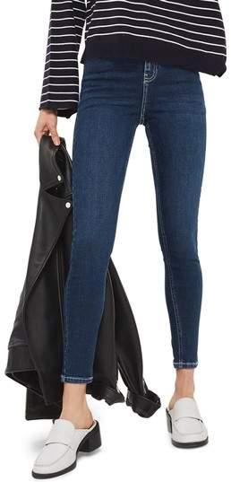 Jamie Contrast Stitch Skinny Jeans