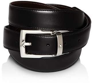 Montblanc Classic Line Rectangular Buckle Reversible Belt