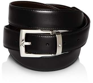 Montblanc Rectangular Buckle Reversible Belt