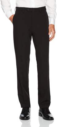Tommy Hilfiger Men's Flat Front Bi-Stretch Solid Dress Pant
