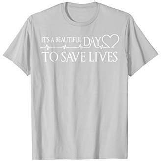 DAY Birger et Mikkelsen It's a Beautiful to Save Lives T-Shirt
