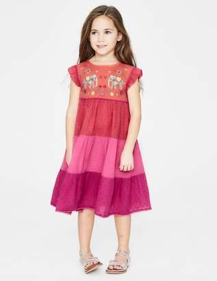 Embellished Midi Dress