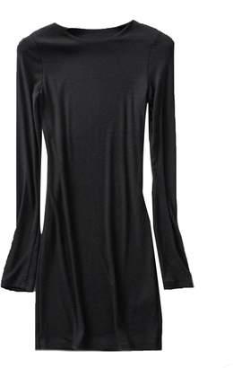 Goodnight Macaroon 'Ragna' Boat Neck Long Sleeve Longline T-Shirt (3 Colors)