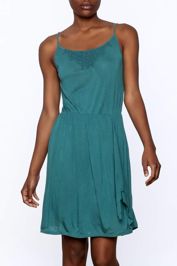Gentle Fawn Teal Sleeveless Dress