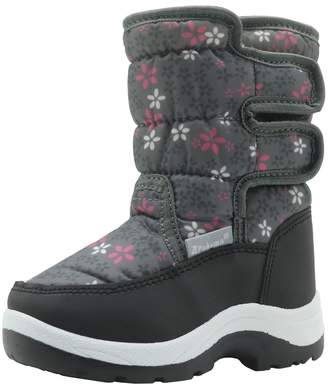 Sunny&Baby Toddler / Little Kid's Shoes Non-skid Sole Unisex Snow Boots Bungee Lacing & Fastener Closure Fleece Inside Children ( Color : , Size : )